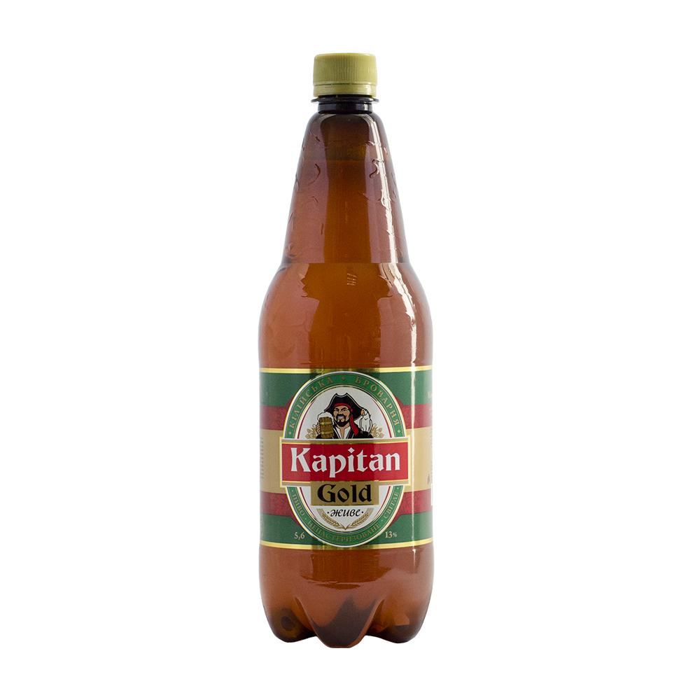 Пиво Kapitan Gold